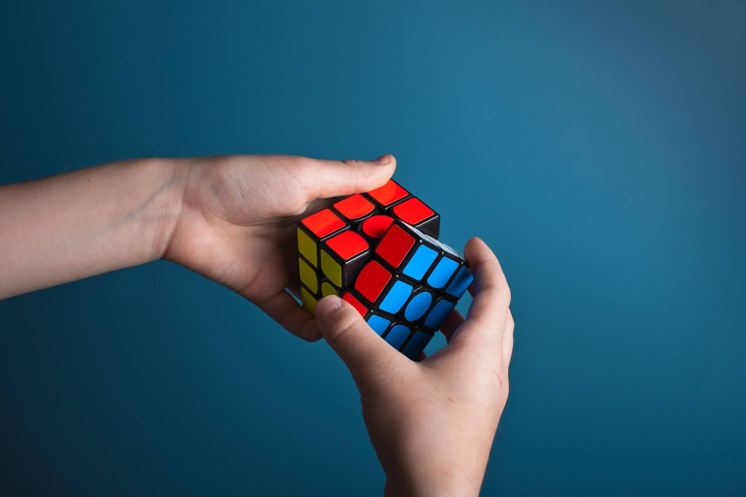 ルービックキューブトリックに使うキューブ